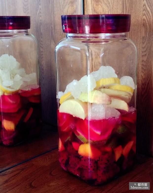 自制水果酵素,健康身材吃出来